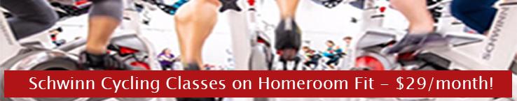 HomeroomFit.com | Schwinn Cycling on Homeroom Fit